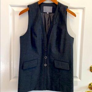 Classiques Entier Long Gray Vest Size M